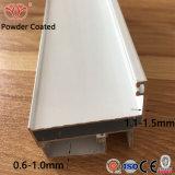 Los perfiles de aluminio blanco PC