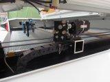 1612 150W二重ヘッドレーザーの打抜き機