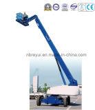 tipo diritto diesel piattaforma del braccio di 21.2-40.4m di lavoro aereo