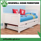 Mobiliario de dormitorio de madera de pino niños con 3 cajones