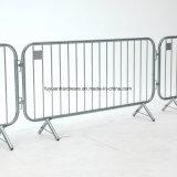 Barrera de acero revestida del control de muchedumbre de la seguridad en carretera del PVC