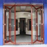 Prezzo esterno isolato alluminio Malesia del portello di piegatura