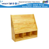 Mensola di libro di legno dei piccoli bambini sulle azione (HC-4306C)