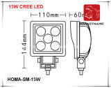 6 indicatore luminoso di azionamento dell'indicatore luminoso LED del lavoro di pollice 15W LED per la jeep di SUV