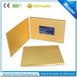 Oro 4.3inch especial papel de impresión de tarjeta de vídeo de la publicidad en pantalla de LCD