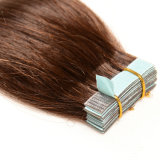 Virgin Remy 도매 최상 머리 최고 얇은 테이프 머리 연장