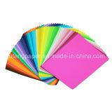 Papel de textura de pulpa de madera de alta calidad Papel de color