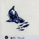 Пленка печатание перехода воды пленки геометрического шаржа ширины Yingcai 0.5m гидро окуная