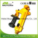Bomba de depósito vertical do processamento mineral de eficiência elevada