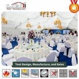 tenda di lusso della tenda foranea di cerimonia nuziale della portata della radura di 25m grande per una cerimonia nuziale delle 1000 genti
