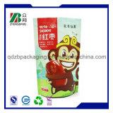 L'humidité sacs Ziplock en plastique pour l'emballage des fruits séchés