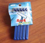 Doppelblatt-wegwerfbares Rasiermesser (KD-52003L)