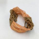 Il fascino Mutilayer borda i monili della lega del braccialetto