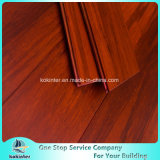 Usage intérieur de première qualité Strand Woven Bamboo Flooring in Red Walnut Color and Cheap Price