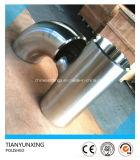 Encaixes Polished sanitários sem emenda do aço 304/304L inoxidável