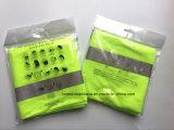 El verde del producto del OEM de la fábrica de China barato teñió con la bufanda tubular del cuello multi reflexivo de las rayas