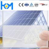 緩和された板ガラスの太陽電池パネルのガラスゆとりPVのモジュールの上塗を施してあるガラス