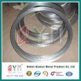 中国の製造者アコーディオン式かみそりの有刺鉄線か熱い浸された電流を通されたかみそりワイヤー