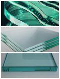 Стекло для стекла / мебельного стекла с круглым / круглым закаленным стеклом 6-12 мм