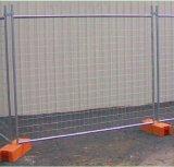 熱いすくいの電流を通された一時塀のパネル