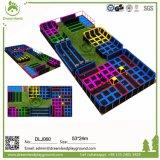 Parque libre del trampolín del diseño, diseño único del parque del trampolín para su localización