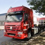 HOWO 6X4 트럭 60 톤 371HP Hw76/Hw79 트랙터