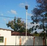 Esterno tutti in un indicatore luminoso di via solare del LED 6W