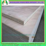 En la puerta de madera contrachapada de comerciales de alta calidad