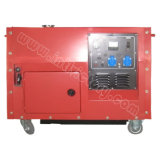 10kVA Silent Petrol Power Gemellare-Cylinder Generator con CE/Soncap/Ciq Certifications