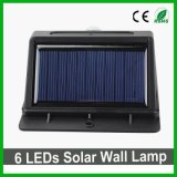 Buon indicatore luminoso solare della parete di qualità 16LEDs LED per esterno/giardino