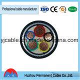 Le PVC de conducteur de Cu a isolé le câble d'alimentation blindé de bande en acier engainé par PVC