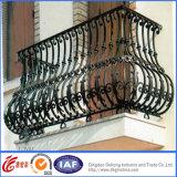 電流を通された鋼鉄バルコニーの塀/錬鉄のバルコニーの柵/アルミニウム塀