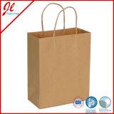 サイズのブラウンの修飾された異なった紙袋/カラー袋