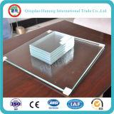 1.1-25mm Vidrio ultra claro / cristal extra claro / vidrio bajo del hierro