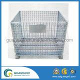 高容量の金属線の網の記憶のケージの容器