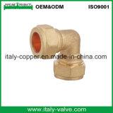L'ottone di qualità di OEM&ODM forgiato riduce l'accoppiamento di compressione (AV7003)