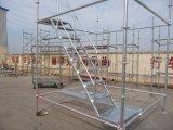 Sistema de aço de Ringlock do andaime do frame da construção