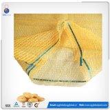 Verpackenkartoffel Raschel Ineinander greifen-Beutel der Zwiebelen-30kg