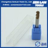 Fresa cuadrada modificada para requisitos particulares del carburo de tungsteno