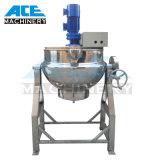 Veste de chauffage d'inclinaison en acier inoxydable bouilloire bouilloire de cuisson pour coller (ACE-JCG-1G)