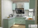 Modern Home Отель мебель островных U форму дерева кухонным шкафом