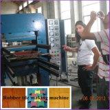 Xlb600X600 Prensa Hidráulica máquina de fabrico de ladrilho de borracha com dois anos de garantia