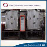 Máquina de capa decorativa sanitaria de las mercancías PVD