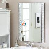 [فرملسّ] حمام حديث مستديرة فضة مرآة أثاث لازم زخرفة جدار مرآة