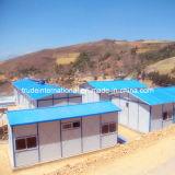 Helles Stahlmodulares/bewegliches/Fertig/fabrizierten Zoll-Madecamp lebendes Gebäude vor