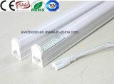 L'indicatore luminoso T8 9W 60cm del tubo del LED ha integrato con la parentesi