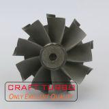 Asta cilindrica della rotella di turbina di Gt15 433165-0001/433165-0007/433298-0001