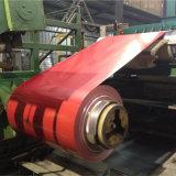O material de folha quente da telhadura da venda 2017 Prepainted a bobina do aço PPGI