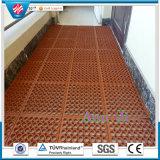 de Vloer van de Workshop Antifatigue van 12mm, Mat van de Bevloering van de Keuken de Rubber
