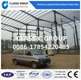 Armazém/oficina pré-fabricados industriais chineses da estrutura do frame de aço